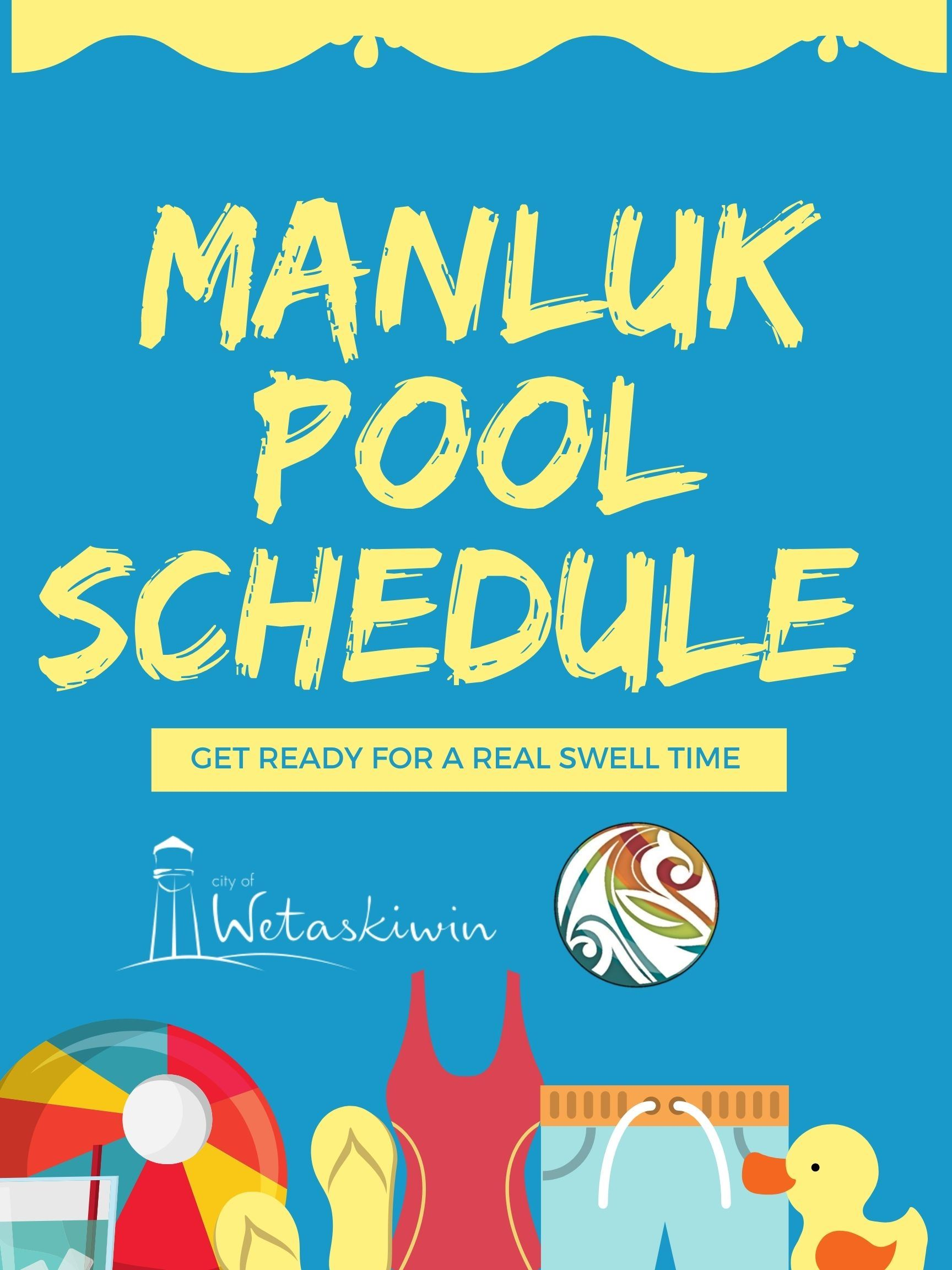 Manluk Pool Schedule Newsflash image