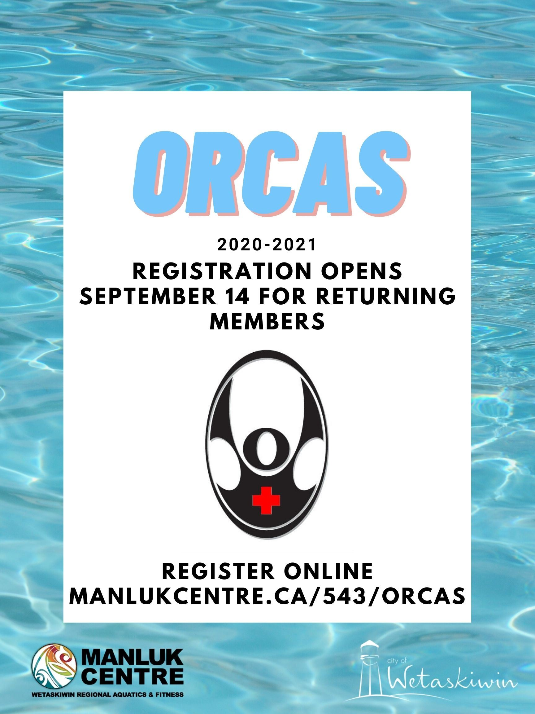 ORCAS Registration - Poster