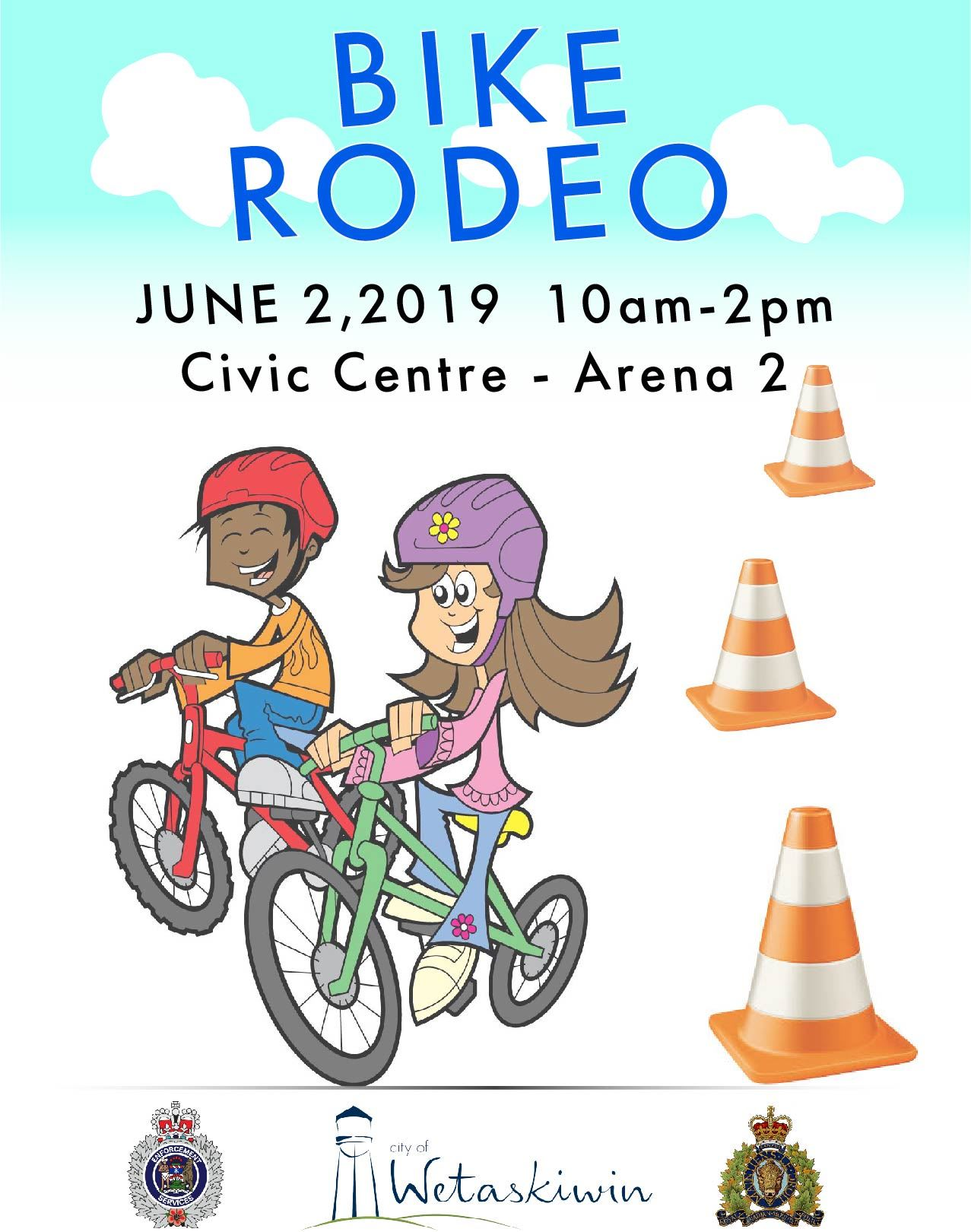 Bike Rodeo poster - 2019
