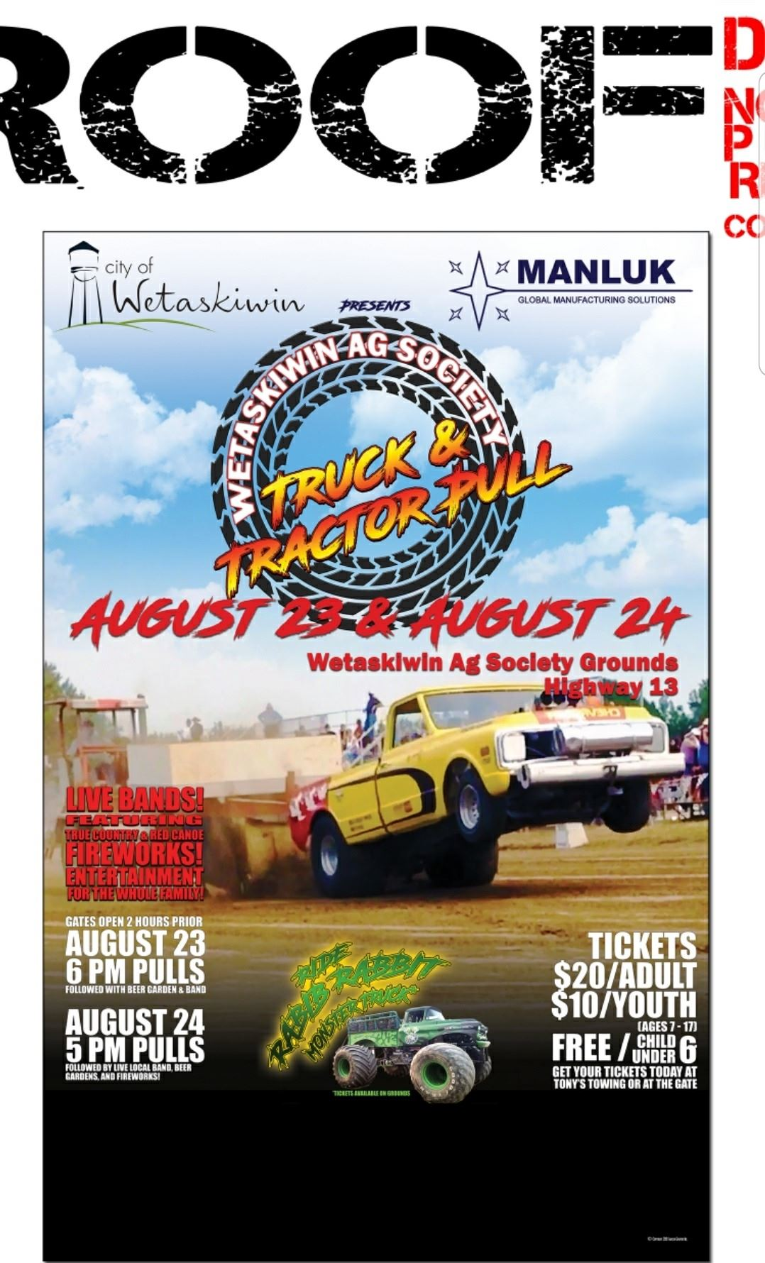 Tractor Pull poster