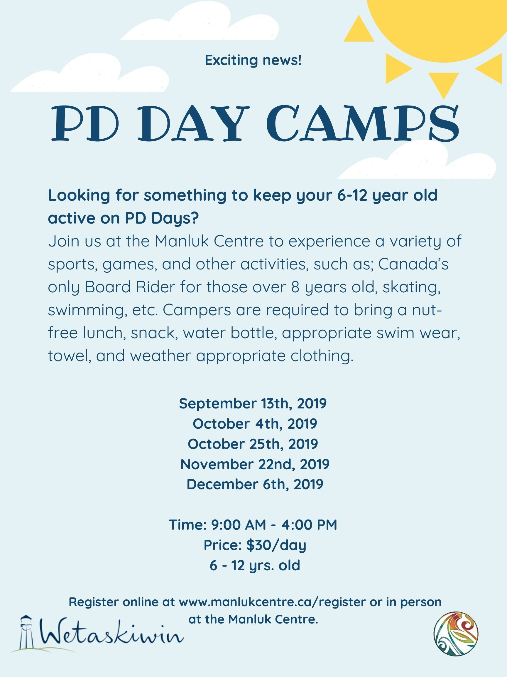 PD Day camps Fall 2019 (1)